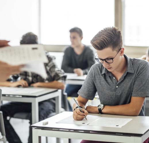 Calificaciones de los exámenes de acceso