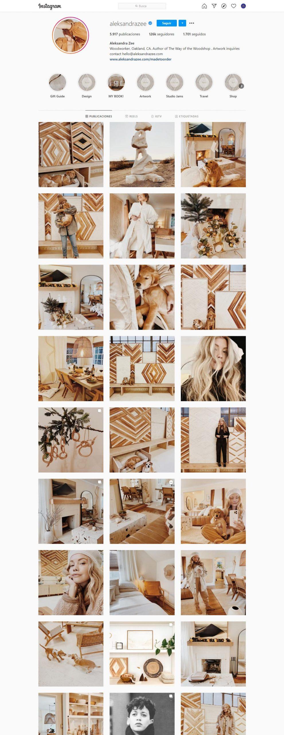 Aleksandrazee Feed Instagram